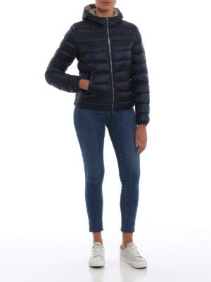 Colmar Originals: giacche imbottite online - Piumino corto blu con cappuccio