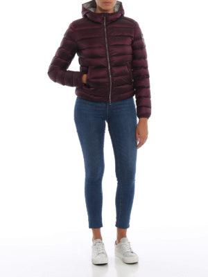 Colmar Originals: giacche imbottite online - Piumino corto viola con cappuccio
