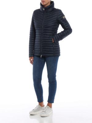 Colmar Originals: giacche imbottite online - Piumino attillato blu navy opaco Floid