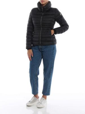 Colmar Originals: giacche imbottite online - Piumino nero Place corto con collo a imbuto