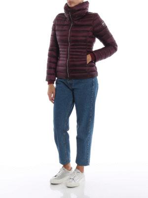 Colmar Originals: giacche imbottite online - Piumino bordeaux Place con collo a imbuto