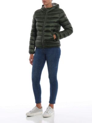 Colmar Originals: giacche imbottite online - Piumino corto verdone Place con cappuccio