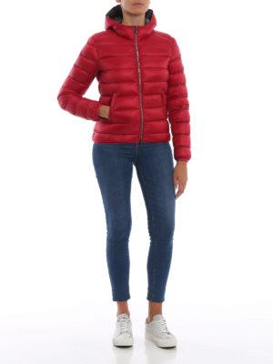 Colmar Originals: giacche imbottite online - Piumino corto rosso con cappuccio
