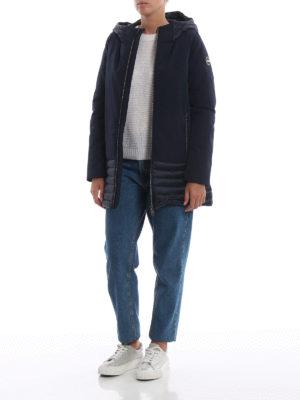 Colmar Originals: cappotti corti online - Cappotto Biker in nylon opaco e trapuntato