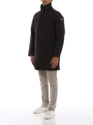 Colmar Originals: cappotti corti online - Cappotto corto imbottito Riddle marrone scuro