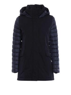 Colmar Originals: padded coats - Biker technical fabric padded coat