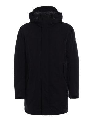 Colmar Originals: padded coats - Black technical fabric padded coat