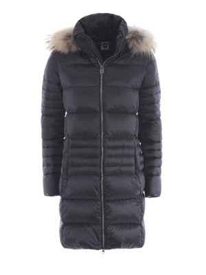 Colmar Originals: padded coats - Odissey down coat with fur