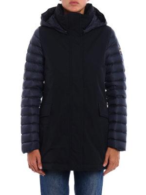 Colmar Originals: padded coats online - Biker technical fabric padded coat