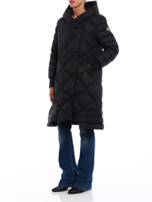 Colmar Originals: padded coats online - Crumpled technical padded coat
