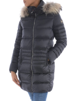 Colmar Originals: padded coats online - Odissey down coat with fur
