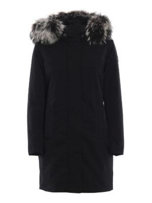 Colmar Originals: cappotti imbottiti - Piumino con cappuccio bordato in pelliccia