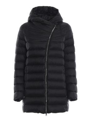 Colmar Originals: cappotti imbottiti - Piumino corto nero Place con cappuccio
