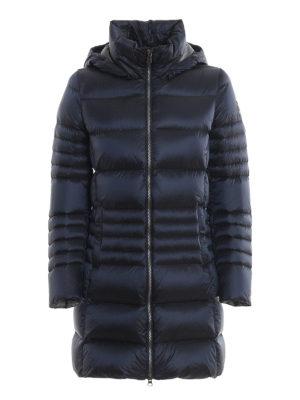 Colmar Originals: cappotti imbottiti - Piumino blu Place con cappuccio staccabile