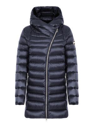 Colmar Originals: cappotti imbottiti - Piumino corto blu Place con cappuccio