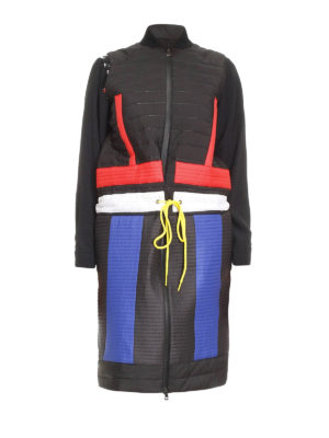 Colmar Originals: padded coats - Water repellent colour block vest