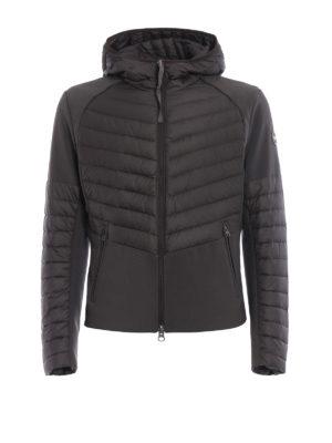 Colmar Originals: padded jackets - Bi-textured hooded jacket