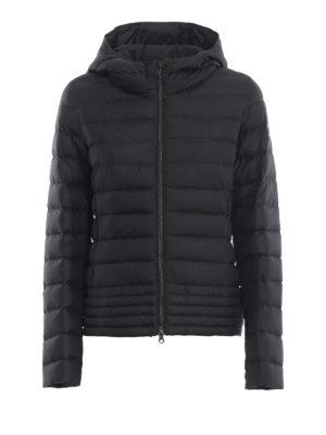 Colmar Originals: giacche imbottite - Piumino trapuntato in nylon nero Empire