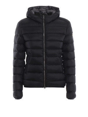 Colmar Originals: giacche imbottite - Piumino corto nero con cappuccio