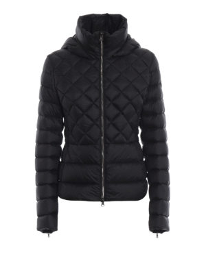 Colmar Originals: giacche imbottite - Piumino nero con cappuccio rimovibile
