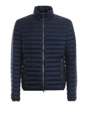 Colmar Originals: giacche imbottite - Piumino blu con interno grigio chiaro