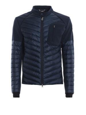 Colmar Originals: giacche imbottite - Piumino blu con inserti effetto neoprene