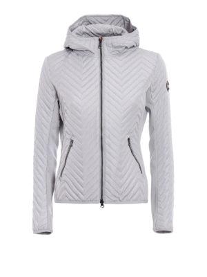 Colmar Originals: padded jackets - Chevron hooded puffer jacket