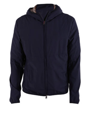 Colmar Originals: padded jackets - Dark blue padded hooded jacket