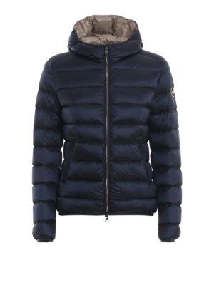Colmar Originals: giacche imbottite - Piumino corto blu con cappuccio