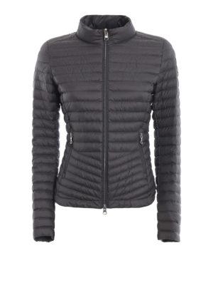 Colmar Originals: giacche imbottite - Piumino antracite stile biker in nylon Floid