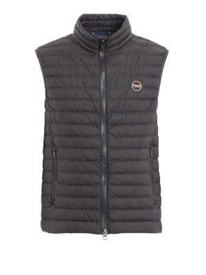 Colmar Originals: giacche imbottite - Gilet imbottito  in nylon Floid grigio scuro