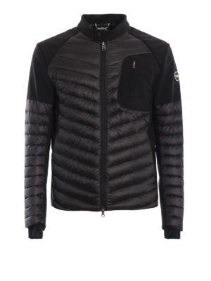 Colmar Originals: giacche imbottite - Piumino nero con inserti effetto neoprene