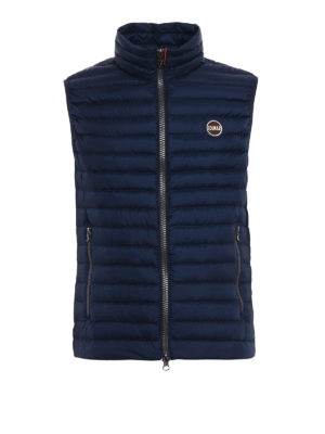 Colmar Originals: padded jackets - Down padded sleeveless blue jacket