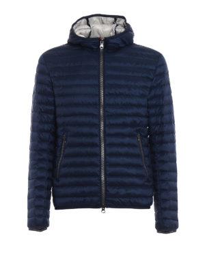 Colmar Originals: padded jackets - Hooded dark blue puffer jacket