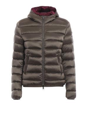 Colmar Originals: giacche imbottite - Piumino corto beige con cappuccio