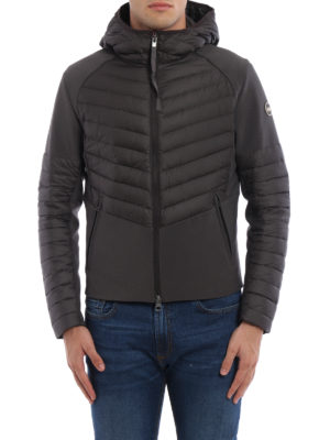 Colmar Originals: padded jackets online - Bi-textured hooded jacket