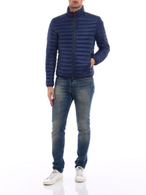 Colmar Originals: padded jackets online - Blue and red puffer jacket