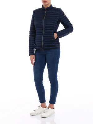 Colmar Originals: padded jackets online - Blue light down padded jacket