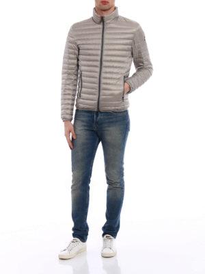 Colmar Originals: padded jackets online - Greige and blue puffer jacket