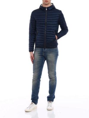Colmar Originals: padded jackets online - Hooded dark blue puffer jacket