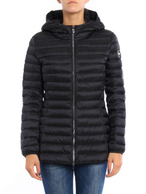 Colmar Originals: padded jackets online - Hooded long padded jacket