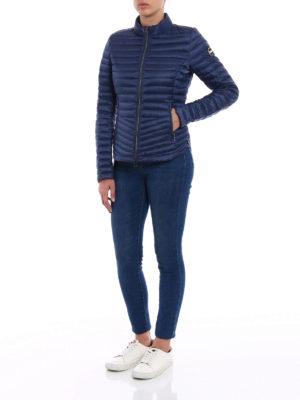Colmar Originals: padded jackets online - Padded biker blue jacket