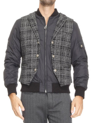 Colmar Originals: padded jackets online - Padded bomber with vest