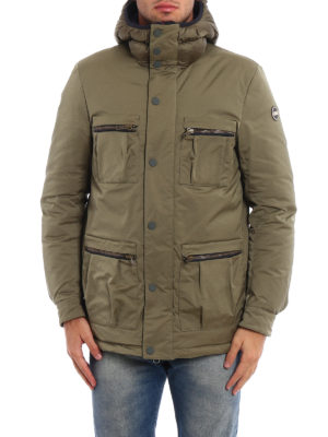 Colmar Originals: padded jackets online - System padded hooded field jacket