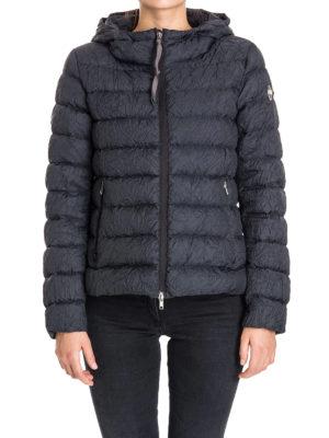 Colmar Originals: padded jackets online - Wrinkled blue puffer jacket