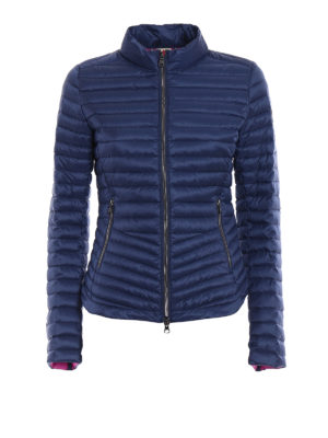 Colmar Originals: padded jackets - Padded biker blue jacket
