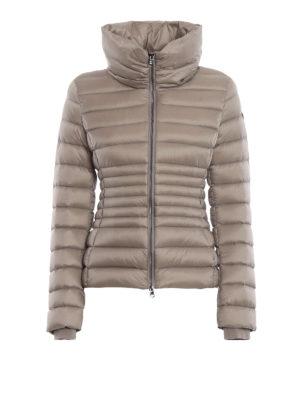 Colmar Originals: giacche imbottite - Piumino corto beige Place con collo a imbuto