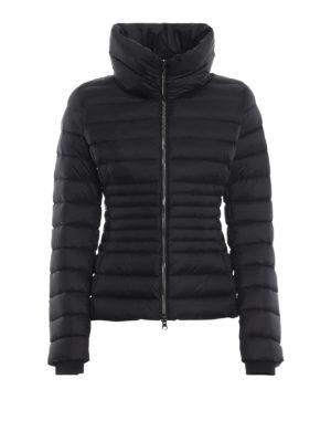 Colmar Originals: giacche imbottite - Piumino nero Place corto con collo a imbuto