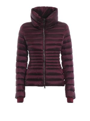 Colmar Originals: giacche imbottite - Piumino bordeaux Place con collo a imbuto