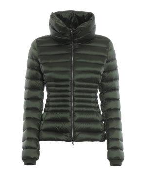 Colmar Originals: giacche imbottite - Piumino corto Place verde con collo a imbuto